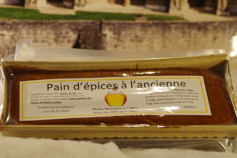 Paind'épice à l'ancienne SAINT ANTOINE L'ABBAYE