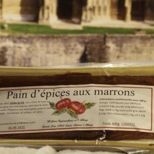 Pain d'épices aux marrons